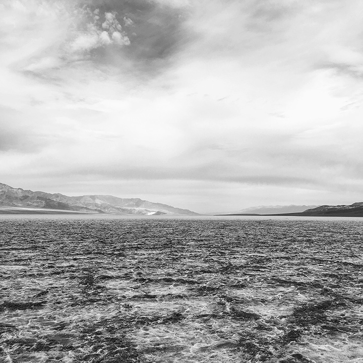 Salt Flats at Badwater Basin