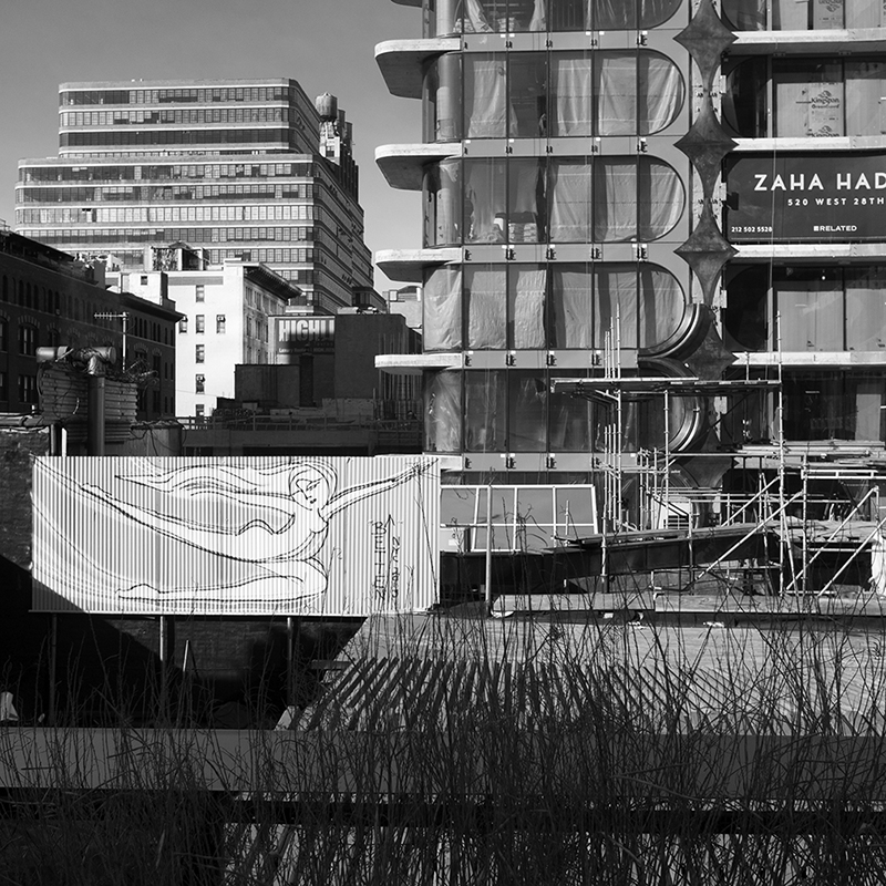 Hadid and more from the High Line